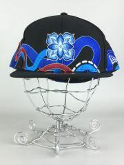 キャップ/8/ウール/ブラック/×hitotzuki