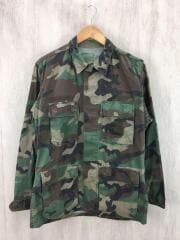 BDUジャケット/長袖シャツ/S/コットン/GRN/カモフラ/8416-01-004-1643