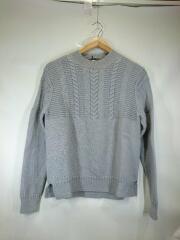 セーター(厚手)/ウール/グレー