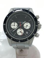 ダイヤモンドウォッチ/TYPE-C/クォーツ腕時計/アナログ/ステンレス/ブラック/シルバー