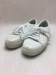 ローカットスニーカー/35.5/ホワイト/レザー