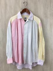 クレイジーパターン長袖シャツ/BEAMS別注/M/ペインター/コットン/ピンク