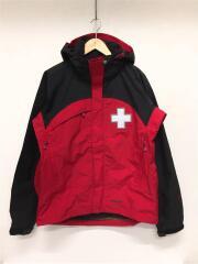Patrol Jacket/スノーレスキューパトロールジャケット/S/ナイロン/レッド/83295/タグ付