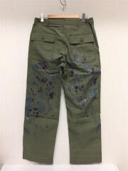 20SS/Fatigue Pant Back Sateen/Paint/ペインターパンツ/L/コットン/カーキ