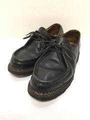 シューズ/ブラック/レザー/ローファー/ミカエル/革靴/レザーシューズ/フランス製