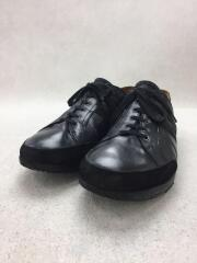 ローカットスニーカー/40/BLK/レザー/ブラック/黒/靴