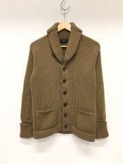 セーター(厚手)/S/コットン/キャメル/116-42-0635