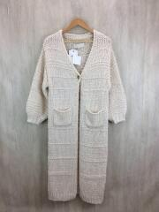 Boucle Knit Gown/セーター(厚手)/38/アクリル/CRM/無地