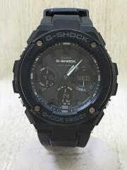 ソーラー腕時計・G-SHOCK/デジアナ/ラバー/GRY/BLK//  G-STEEL ジースチール