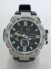ソーラー腕時計・G-SHOCK/アナログ/Bluetooth G-STEEL  GST-B100-1AJF