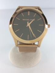 クォーツ腕時計/アナログ/ステンレス/SLV/GLD/MK-8697