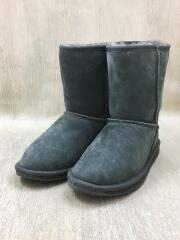STINGER LO/ムートンブーツショートブーツ/23cm/GRY/スウェード/W10002
