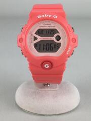 クォーツ腕時計・Baby-G/デジタル/ラバー/PNK/PNK
