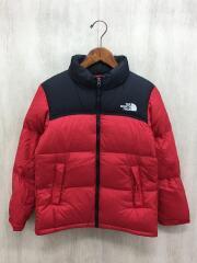 Nuptse Jacket/JUNIORサイズ/キッズ/ジャケット/140cm/ナイロン/RED/NDJ91758