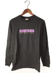 19SS/The Real Shit L/S Tee/長袖Tシャツ/S/コットン/BLK