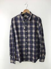 タグ付/Check Shirt Vintage Finish/ネルシャツ/XL/BLU/RN2026 9047
