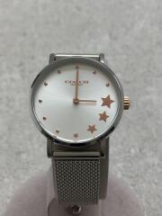 28MM PERRY/クォーツ腕時計/アナログ/SLV/SLV/14503519