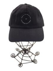 キャップ/帽子/ポリエステル/ブラック/黒