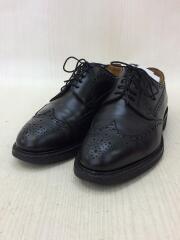 ウイングチップドレスシューズ/革靴/24.5cm/ブラック/黒/レザー/27150