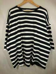 Tシャツ/5/コットン/BLK/ボーダー