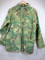 Ranger/70s/Duck Hunter Camo/ミリタリージャケット/L/コットン/KHK/カモフラ