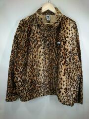 18AW/Leopard blouson/ジャケット/G01BL221/S/コットン/CML/レオパード