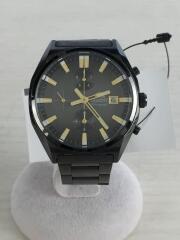 クォーツ腕時計/TT10-D0-B/アナログ/ステンレス/BLK/BLK