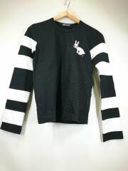 長袖Tシャツ/1F-T004/AD2010/XS/コットン/BLK