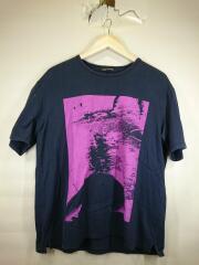 Tシャツ/42/コットン/NVY