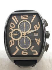 エンジェルクローバー/DPS38GY/DOUBLE PLAY SOLAR/ソーラー腕時計/アナログ/レザー