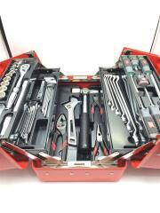 両開きプラボックス工具セット/12.7SQ/53点セット/ツールセット