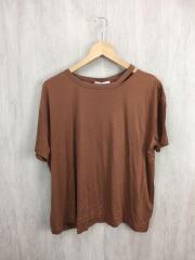 キュプラレーヨンスリットTEE/Tシャツ/FREE/レーヨン/19SS/19070400005030