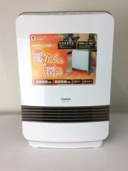 YAMAZEN/山善/DKF-K122/セラミックヒーター/気化式/加湿/温風/ホワイト