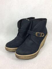 ブーティ/37/BLK/スウェード/クレープソール/全体的に汚れ有/靴底汚れ有/セカスト