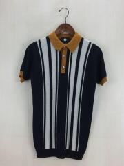 ポロシャツ/XS/ウール/BLK