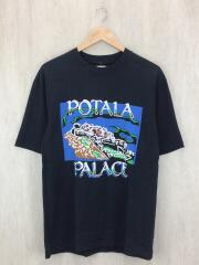 Potala Palace Tee/Tシャツ/M/コットン/BLK