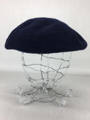 ベレー帽/ウール/NVY/MADE IN JAPAN/日本製