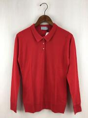 セーター(薄手)/M/ウール/RED
