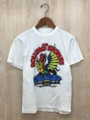 Tシャツ/L/コットン/WHT// プリント