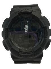 腕時計/ラバー/ブラック/ブラック/カシオ