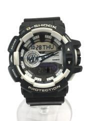 クォーツ腕時計・G-SHOCK/デジアナ/ラバー/ブラック/カシオ