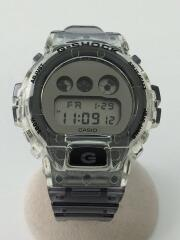 カシオ/クォーツ腕時計/デジタル/エナメル/シルバー/グレー/DW-6900SK/G-shock