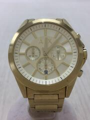 クォーツ腕時計/アナログ/ステンレス/CRM/GLD