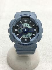 クォーツ腕時計・Baby-G/デジアナ