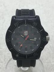 ブラックオプス8880シリーズ/クォーツ腕時計/アナログ/ラバー/GRY/BLK/8880