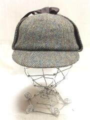 HARRIS TWEED Sherlock/ヘッドウェア/XL/マルチカラー/FWWO003