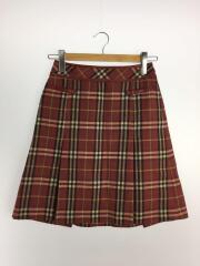 スカート/36/ウール/BRD/チェック/FLF55-626