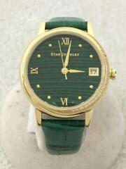 クォーツ腕時計/アナログ/--/GRN/GRN/2SW1044/2020model/STONE FACE WAT