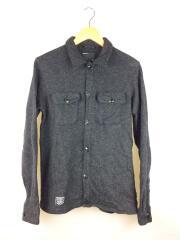 長袖シャツ/2/ウール/GRY/無地/SPNH-SH-02/CPOシャツ/ジャケット
