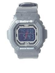 クォーツ腕時計/デジタル/--/BLK/BLK/BG-5600BK/babyG